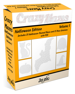 Crazy Mazes Halloween Edition Volume 1 Pic 01