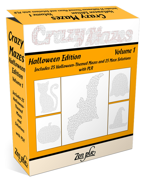 Crazy Mazes Halloween Edition Volume 1 Pic 01
