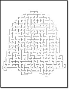 Crazy Mazes Halloween Edition Volume 1 Pic 04