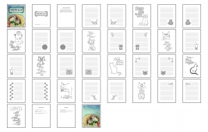 Cuddly Kitties Journal Template Digital Version