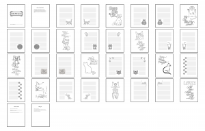 Cuddly Kitties Journal Template Print Version
