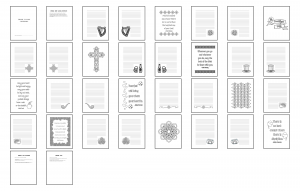 Irish Icons Journal Template Print Version