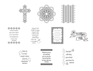 Irish Icons Journal Templates Coloring Page Graphics