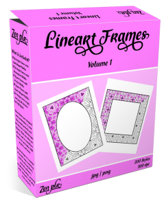 Lineart Frames Volume 1 Product Cover