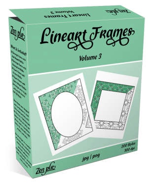 Lineart Frames Volume 3 Product Cover