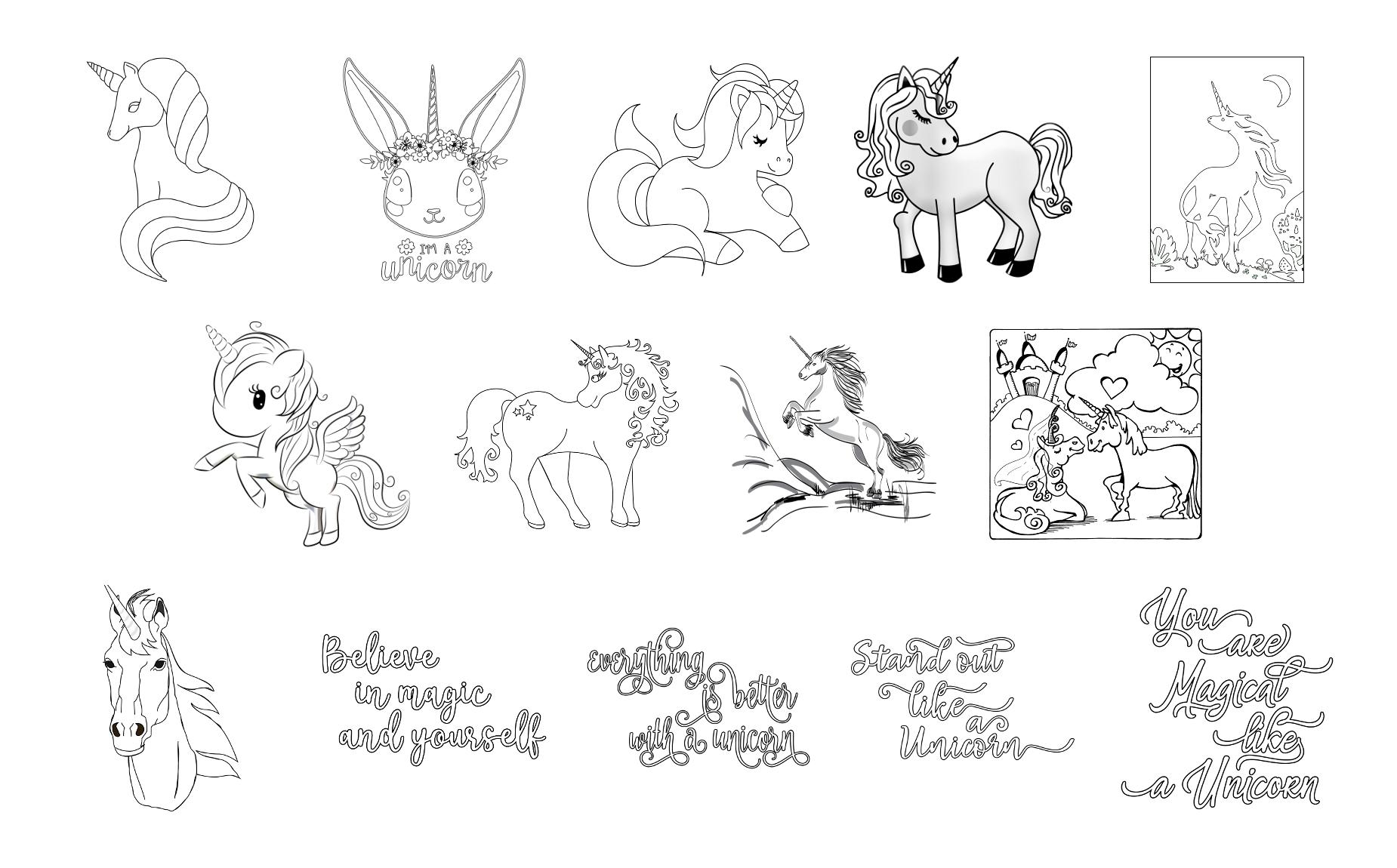 - Magical Unicorns Journal Templates PLR Pack – Zen PLR
