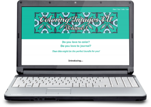 Zen PLR DFY Coloring Designs Volume 01 MiniSite Graphic