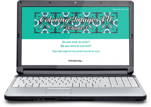 Zen PLR DFY Coloring Designs Volume 01 MiniSite Graphic