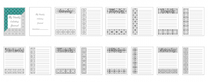 Zen PLR DFY Coloring Designs Volume 01 Weekly Coloring Journal