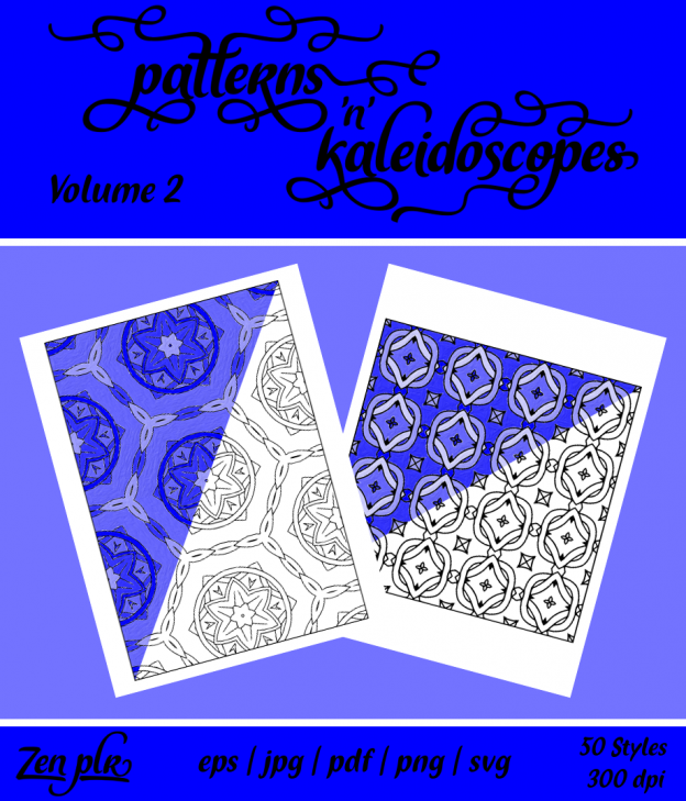 Patterns 'n' Kaleidoscopes Volume 2 Front Cover