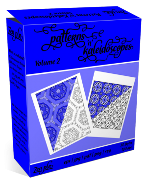 Patterns 'n' Kaleidoscopes Volume 2 Product Cover
