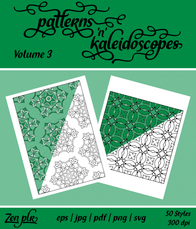 Patterns 'n' Kaleidoscopes Volume 3 Front Cover