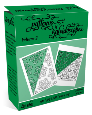 Patterns 'n' Kaleidoscopes Volume 3 Product Cover