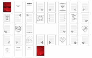 With All My Heart Journal Template Digital Version