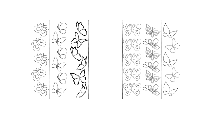 Zen PLR Beautiful Butterflies Journal Templates Upgrade Coloring Bookmarks