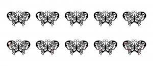 Zen PLR Beautiful Butterflies Journal Templates Upgrade Find the Differences Butterfly 02