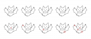 Zen PLR Bonus for A Cup of Zen Halloween Kit Find the Differences Bats