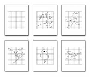Zen PLR Bonus for ColorMePositivePLR Birds Coloring Book Kit Draw the Picture