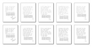 Zen PLR Bonus for ColorMePositivePLR Birds Coloring Book Kit Pictograms