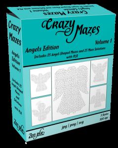 Zen PLR Crazy Mazes Angels Edition Volume 01 Product Cover