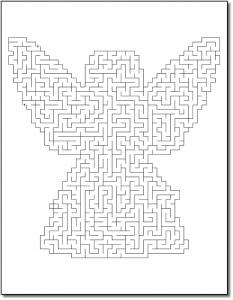 Zen PLR Crazy Mazes Angels Edition Volume 01 Sample Maze 03