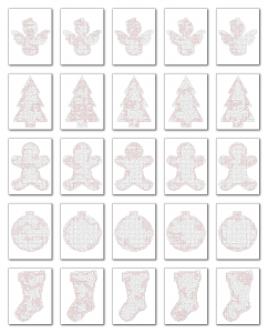 Zen PLR Crazy Mazes Christmas Edition Volume 01 All Solutions