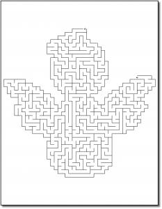 Zen PLR Crazy Mazes Christmas Edition Volume 01 Sample Maze 01