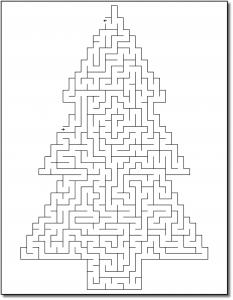 Zen PLR Crazy Mazes Christmas Edition Volume 01 Sample Maze 02