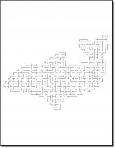 Zen PLR Crazy Mazes Dolphins Edition Volume 01 Sample Maze 02