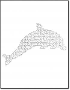 Zen PLR Crazy Mazes Dolphins Edition Volume 01 Sample Maze 03