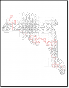 Zen PLR Crazy Mazes Dolphins Edition Volume 01 Sample Maze 05 Solution