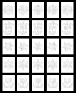 Zen PLR Crazy Mazes Flowers Edition Volume 02 All Mazes Graphic