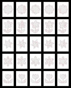 Zen PLR Crazy Mazes Flowers Edition Volume 02 All Solutions Graphic