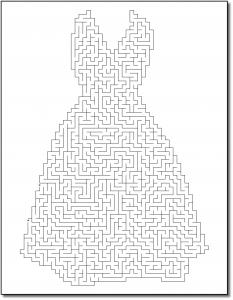 Zen PLR Crazy Mazes Gowns Edition Volume 01 Sample Maze 01