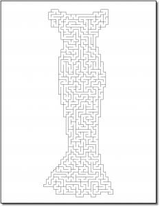Zen PLR Crazy Mazes Gowns Edition Volume 01 Sample Maze 02