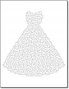 Zen PLR Crazy Mazes Gowns Edition Volume 01 Sample Maze 03
