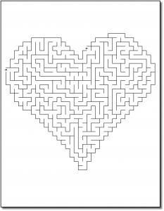 Zen PLR Crazy Mazes Hearts Edition Volume 02 Sample Maze 01