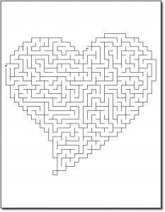 Zen PLR Crazy Mazes Hearts Edition Volume 02 Sample Maze 02