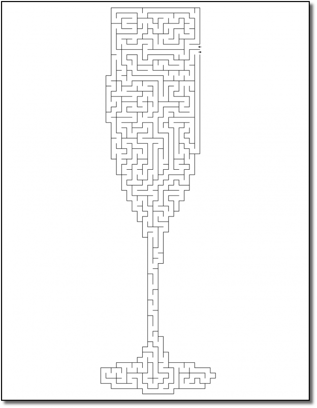Zen PLR Crazy Mazes New Year's Edition Volume 01 Sample Maze 02