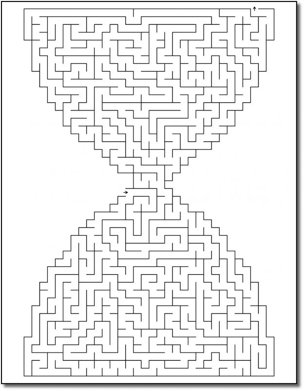 Zen PLR Crazy Mazes New Year's Edition Volume 01 Sample Maze 03