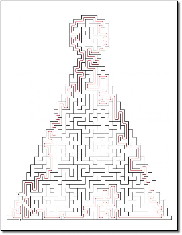 Zen PLR Crazy Mazes New Year's Edition Volume 01 Sample Maze Solution 04