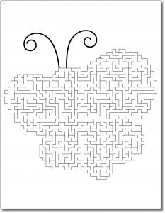 Zen PLR Crazy Mazes Pretty Bugs Edition Volume 01 Sample Maze 02