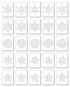 Zen PLR Crazy Mazes Snowflakes Edition Volume 01 All Solutions