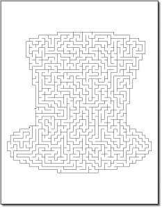Zen PLR Crazy Mazes St Patricks Day Edition Volume 02 Sample Maze 02