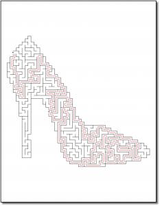 Zen PLR Crazy Mazes Stilettos Edition Volume 01 Sample Maze Solution 04