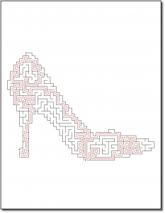 Zen PLR Crazy Mazes Stilettos Edition Volume 01 Sample Maze Solution 05