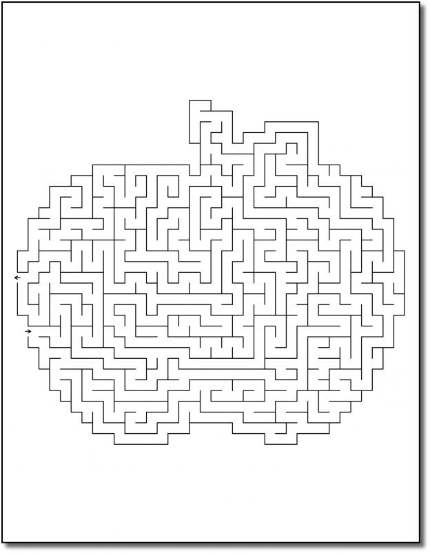 Zen PLR Crazy Mazes Thanksgiving Edition Volume 01 Sample Maze 02