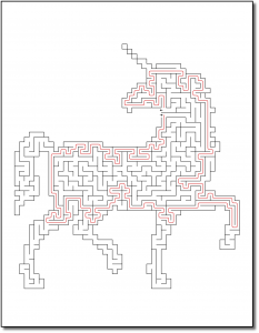 Zen PLR Crazy Mazes Unicorns Edition Volume 01 Sample Maze Solution 05