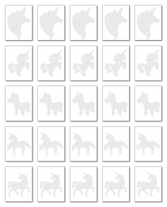 Zen PLR Crazy Mazes Unicorns Edition Volume 02 All Mazes Graphic