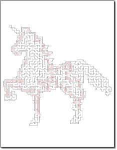 Zen PLR Crazy Mazes Unicorns Edition Volume 02 Sample Maze Solution 04